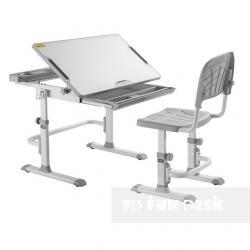 Fun Desk Disa Grey Regulowane Biurko
