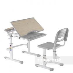 Fun Desk Sorriso Grey Regulowane Biurko