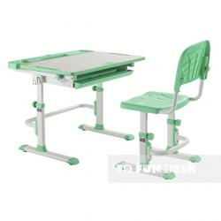 Fun Desk Disa Green Regulowane Biurko
