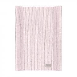 Przewijak Englih Rib Różowy - na łóżeczko 120x60