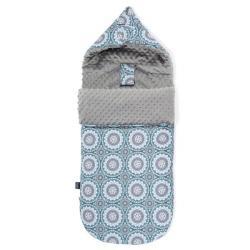"""La Millou - Stroller Bag Premium """"M"""" Mosaic Grey"""
