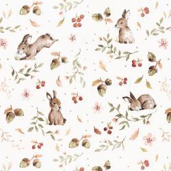 Tapeta Happy Rabbits