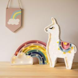 Lama - Lampka Drewniana Lights My Love (różne kolory)