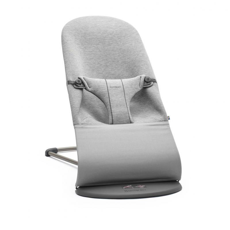 BABYBJORN - leżaczek BLISS 3D Jersey - Jasny Szary