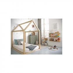 Łóżko Simple 160x80 Naturalny