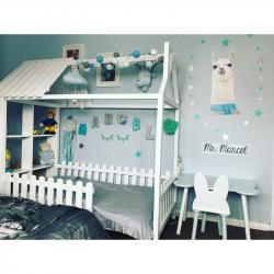 Łóżko Farmhouse 160x80 Biały