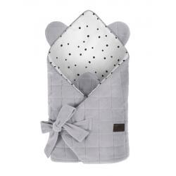 Sleepe Rożek Niemowlęcy Royal Baby Grey/Grey