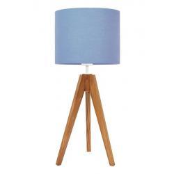 Young Deco - Lampa Na Stolik Delikatny Błękit (podstawa do wyboru)