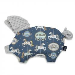 La Millou - Podusia Sleepy Pig Lunapark By Night Light Grey
