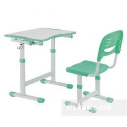 Piccolino II Green Regulowane Biurko + Krzesełko dla Dzieci