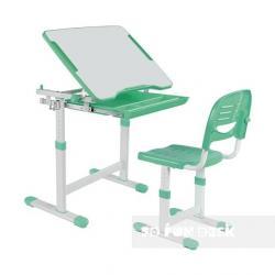 Fun Desk Piccolino Green Regulowane Biurko + Krzesełko dla Dzieci