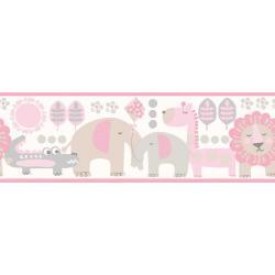 Border Małe Zoo Różowy DLB50076