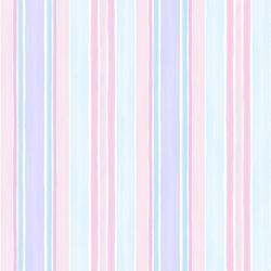 OD RĘKI Tapeta Paski Różowo-Fioletowa G45123