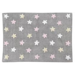 Dywan Stars Grey Pink