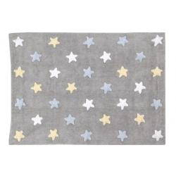 Dywan Stars Grey Blue