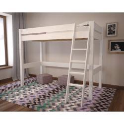 Łóżko Lola na Antresoli (białe) 200x90