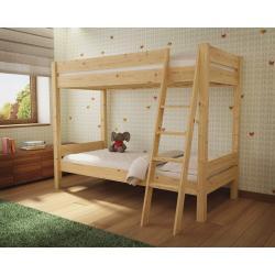 Łóżko Piętrowe Leo 200x90 (naturalne)