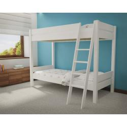 Łóżko Piętrowe Leo 200x90 (białe)