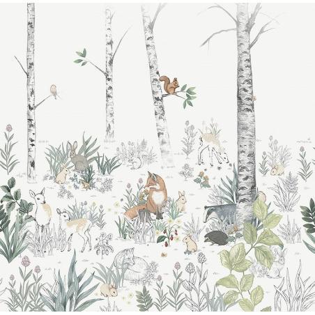 Mural Newbie Magic Forest 7481