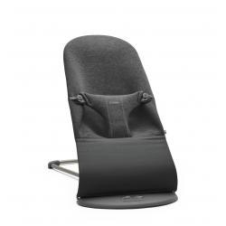 BABYBJORN - leżaczek BLISS 3D Jersey - Szaroczarny