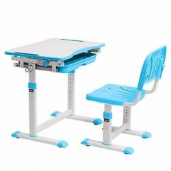 Cubby Sorpresa Blue Regulowane Biurko + Krzesełko dla Dzieci
