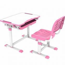 Fun Desk Sorpresa Pink Regulowane Biurko + Krzesełko dla Dzieci