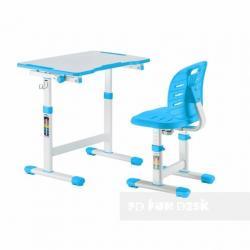 Fun Desk Omino Blue Regulowane Biurko + Krzesełko dla Dzieci