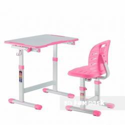 Fun Desk Omino Pink Regulowane Biurko + Krzesełko dla Dzieci