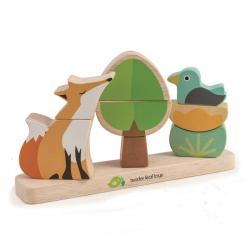 Magnetyczna układanka - Lis, Tender Leaf Toys