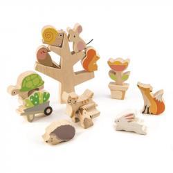 Drewniana gra zręcznościowa - Przyjaciele Ogrodu, Tender Leaf Toys