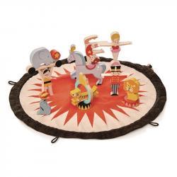 Mata z drewnianymi zabawkami - Cyrk, Tender Leaf Toys