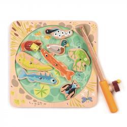Drewniana gra zręcznościowa- Łowienie w stawie, Tender Leaf Toys