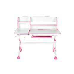 Fun Desk Amare II z Szufladą Pink Regulowane Biurko