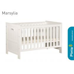 Pinio Marsylia MDF Łóżeczko Blanco 140x70