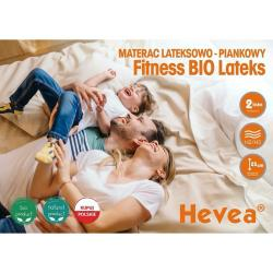 Materac Hevea Fitness Bio Lateks 200x180