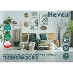Materac Hevea Thermomagic Bio 200x180
