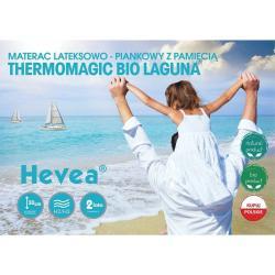 Materac Hevea Thermomagic Bio Laguna 200x90