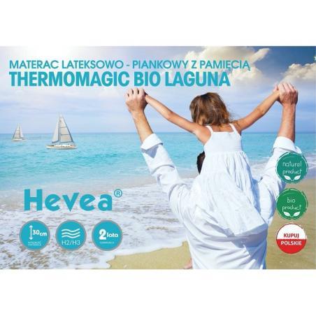 Materac Hevea Thermomagic Bio Laguna 200x160