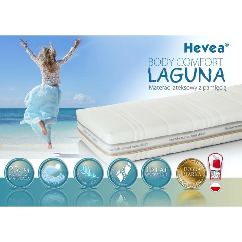 Materac z lateksem Hevea Body Comfort Laguna 200x100
