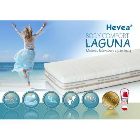 Materac z lateksem Hevea Body Comfort Laguna 200x180