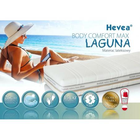 Materac Hevea Comfort Body Max Laguna 200x90