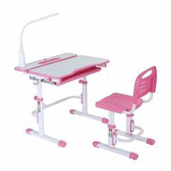 Fun Desk Botero Pink Regulowane Biurko
