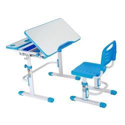 Fun Desk Botero Blue Regulowane Biurko