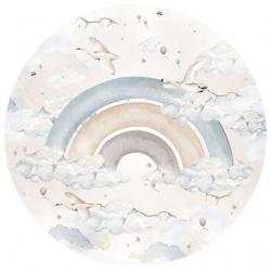 Naklejka Rainbow Boy In A Circle (różne wielkości)