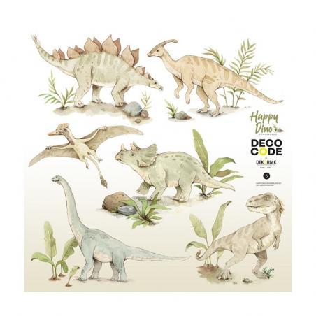 Naklejka Happy Happy Dino Wonderland Zestaw