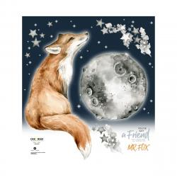 Mr. Fox Naklejka Na Dobranoc