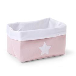Childhome Pudełko płócienne 32 x 20 x 20 cm Soft Pink