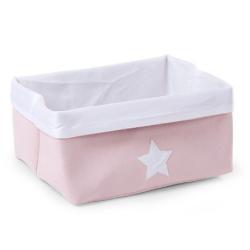 Childhome Pudełko płócienne 40 x 32 x 20 cm Soft Pink