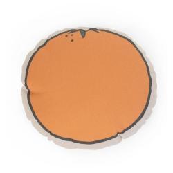 Childhome Poduszka kanwas Pomarańcza
