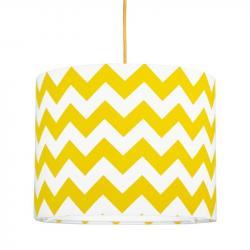 Young Deco - Lampa Sufitowa Mini Chevron Żółty